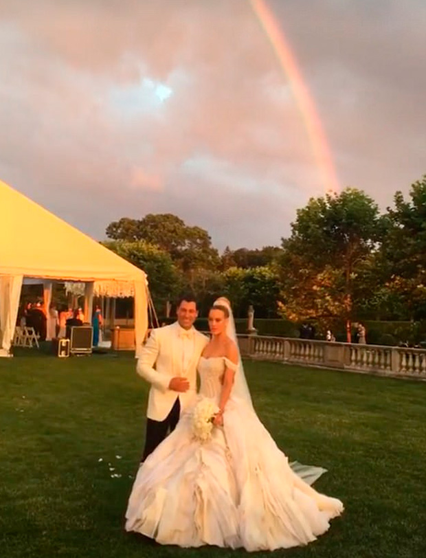 Peta Murgatroyd's Wedding Dress