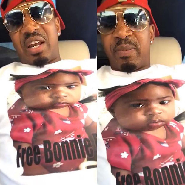 Stevie J Free Bonnie Shirt
