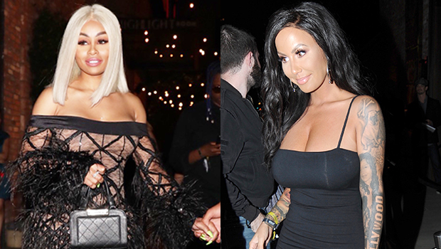 Amber Rose Blac Chyna Girls Night Out