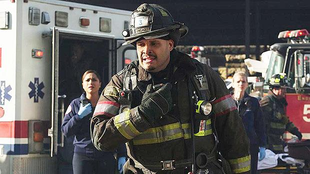 Joe Cruz Chicago Fire