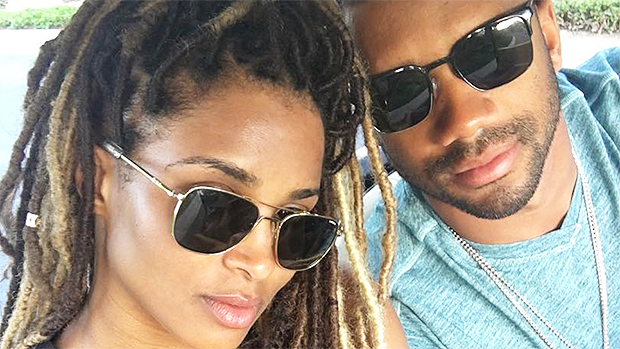 Ciara and her husband Russell Wilson