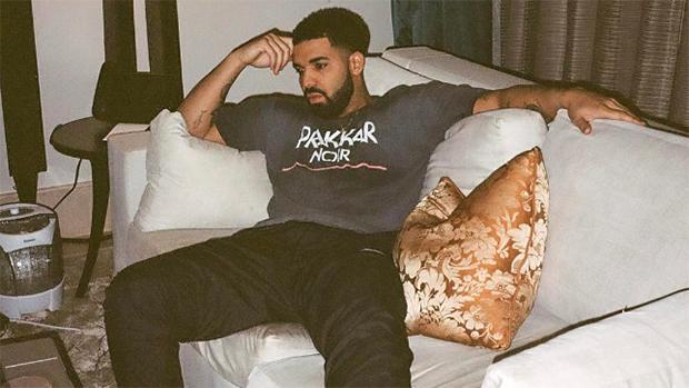 Drake in Rihanna Socks