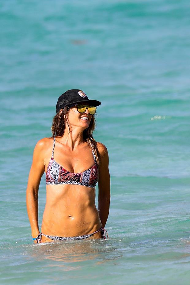 Heidi Klum Abs Bikini