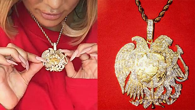Khloe Kardashian's Armenian Necklace