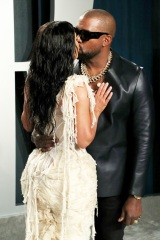 Kim Kardashian West and Kanye West Vanity Fair Oscar Party, Arrivals, Los Angeles, USA - 09 Feb 2020