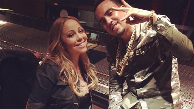 Mariah Carey and French Montana