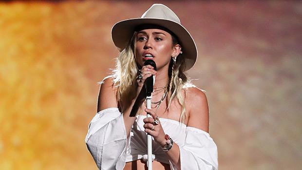 Miley Cyrus Performing 'Malibu'