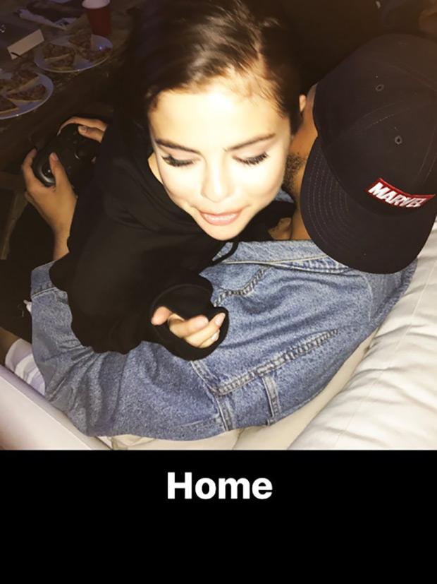 Selena Gomez Cuddles The Weeknd