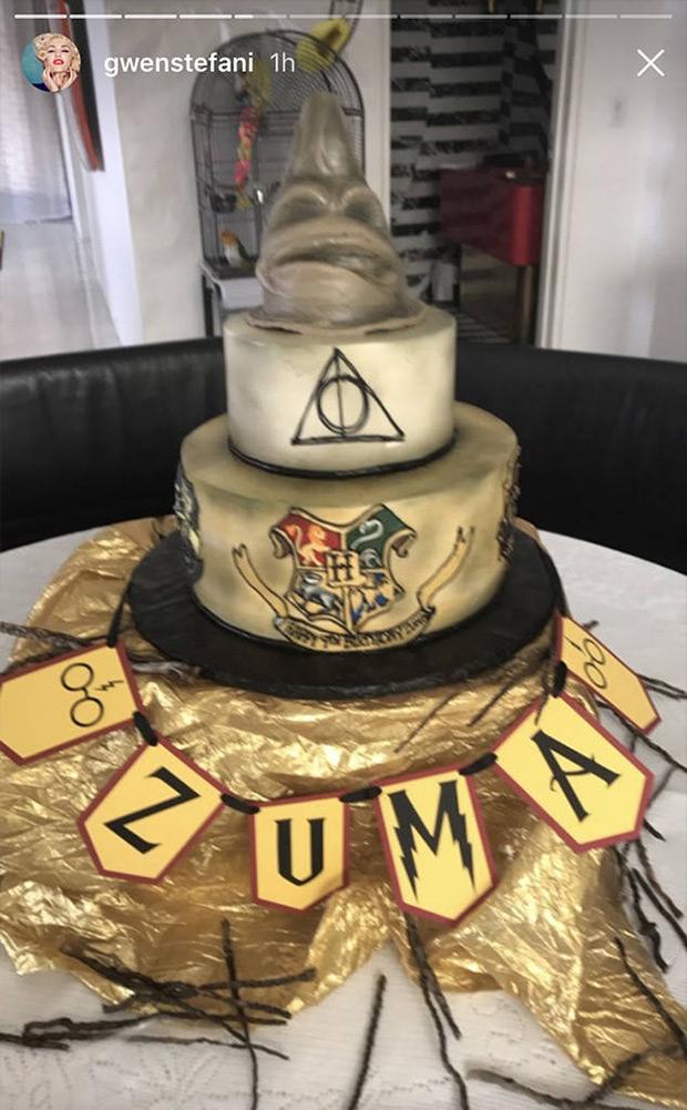Zuma Rossdale's Harry Potter birthday cake
