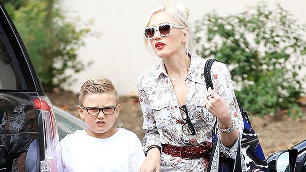Gwen Stefani and her son Zuma Rossdale