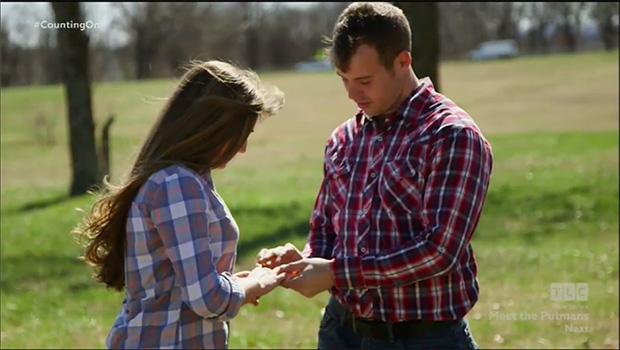 Joe Duggar asking Kendra Caldwell to enter a courtship