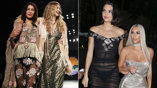 Kim Kardashian Kendall Jenner Gigi Bella Hadid