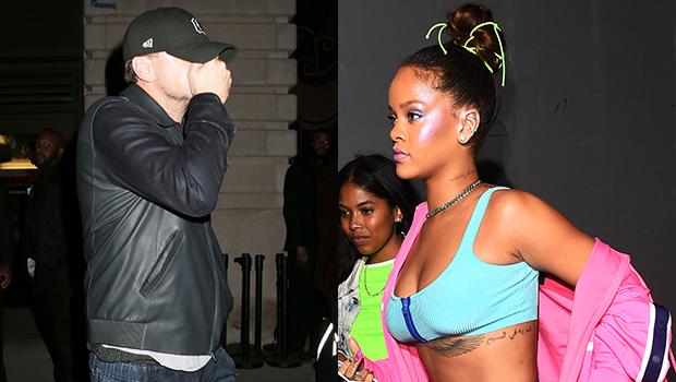 Leonardo DiCaprio And Rihanna At The Fenty Puma After Party