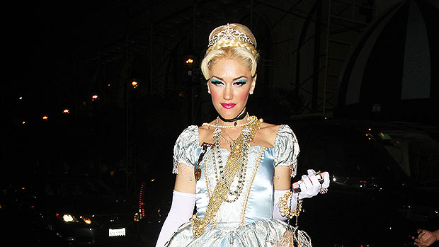 Celebs Dressed As Disney Princesses For Halloween: Gwen Stefani As Cinderella & More