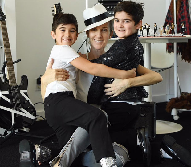 Celine Dion Sons