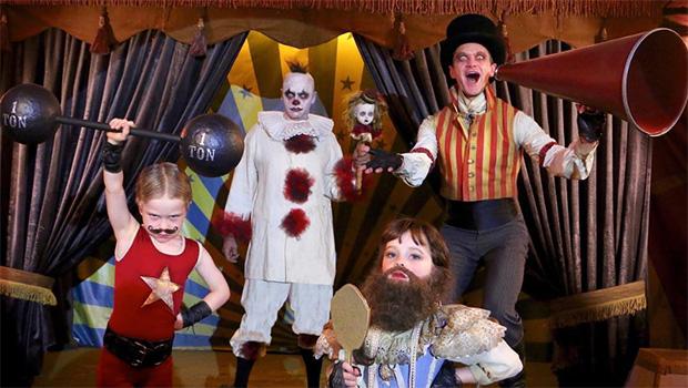 Neil Patrick Harris' Family Halloween Costume 2017