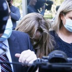 Allison Mack Arrives at Brooklyn Federal Courthouse for Sentencing, New York, United States - 30 Jun 2021