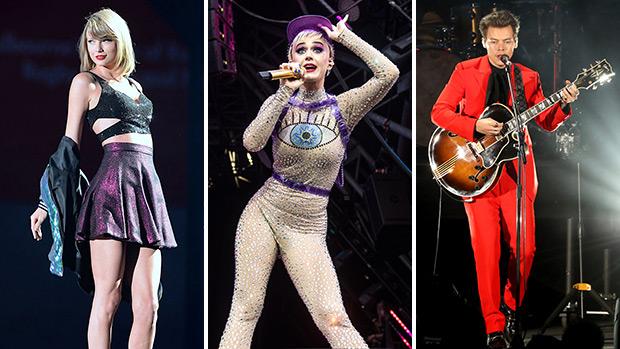 Taylor Swift, Katy Perry & Harry Styles