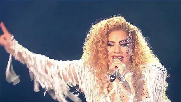 Lady Gaga Performing At The AMAs