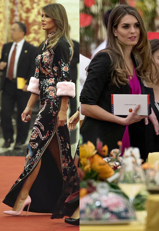Melania Trump & Hope Hicks in China
