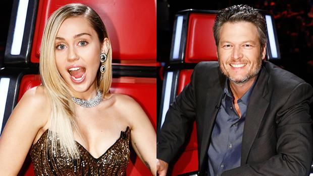 Miley Cyrus & Blake Shelton on 'The Voice'