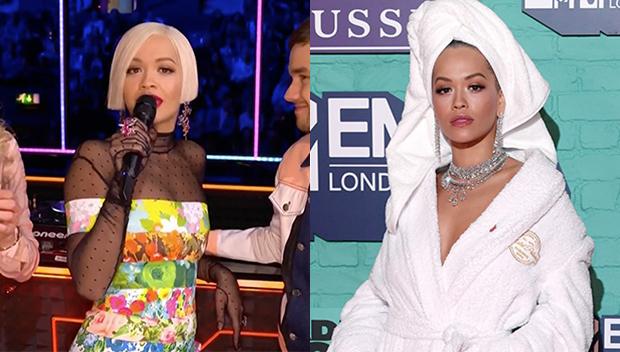 Rita Ora At The MTV EMA