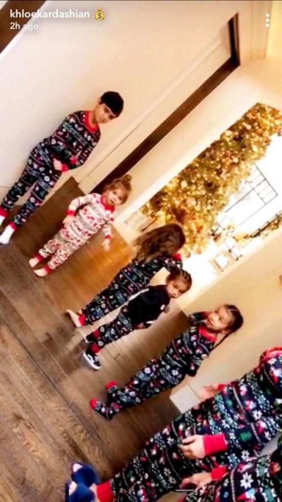 Kardashian Kids On Christmas
