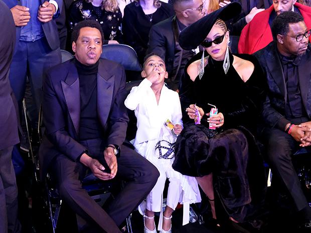 Blue Ivy at 2018 Grammys
