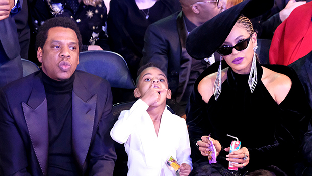Blue Ivy at the 2018 Grammys