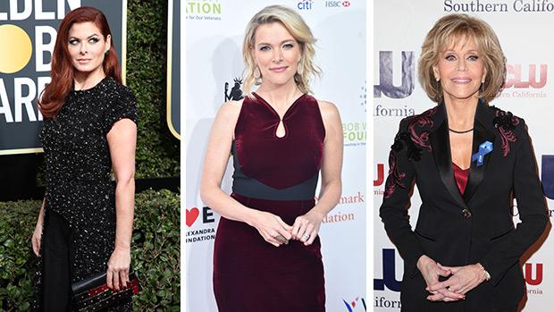 Debra Messing, Megyn Kelly, Jane Fonda