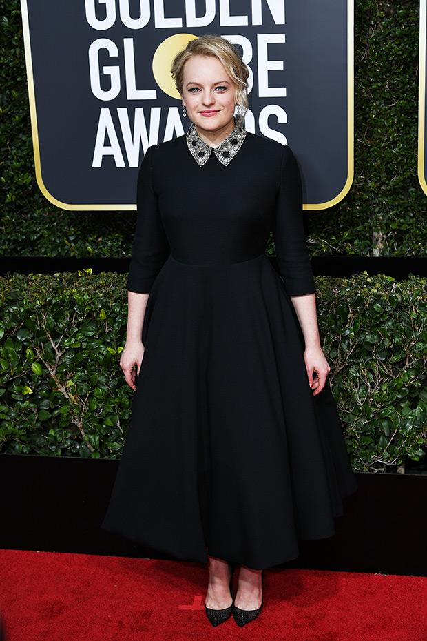 Elisabeth Moss dress