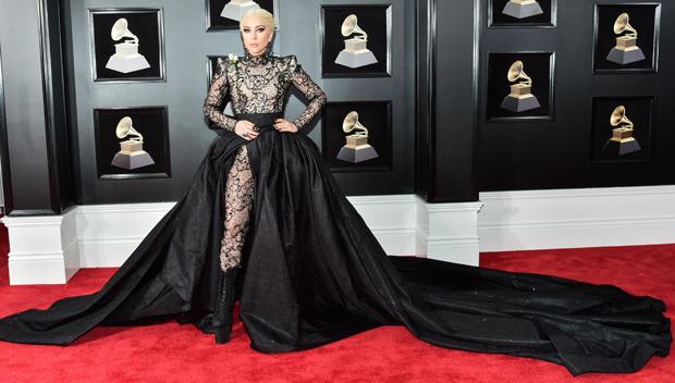 Lady Gaga Dress Grammys