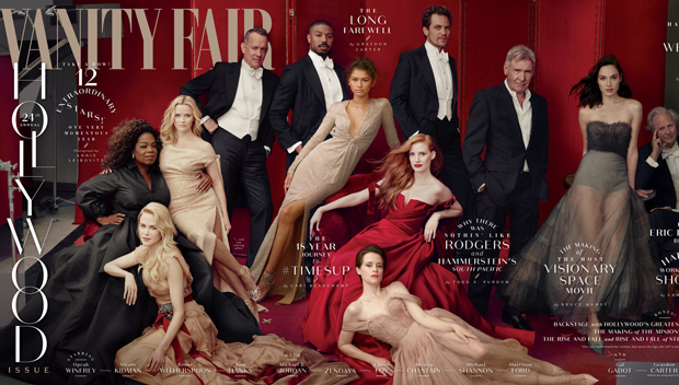 Vanity Fair 2018 Hollywood Issue Cover