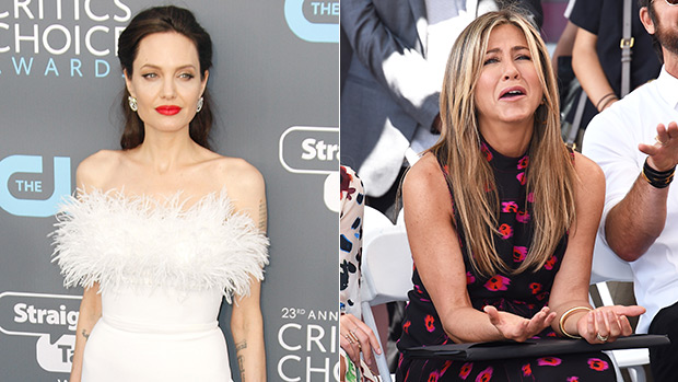 Angelina Jolie And Jennifer Aniston