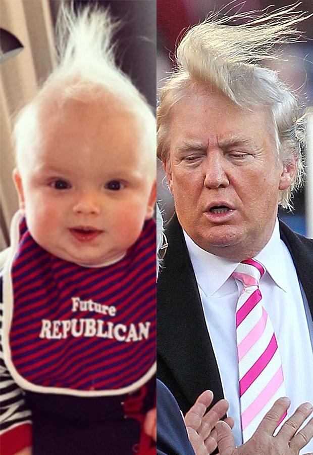 Luke Trump, Donald Trump