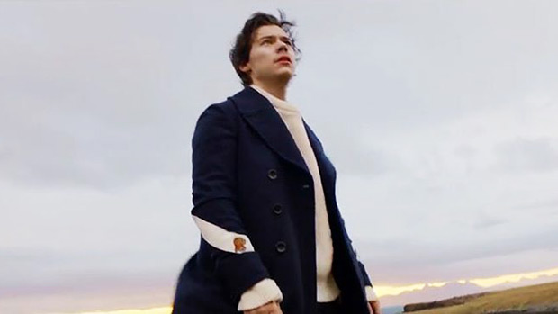 Harry Styles in Sign of the Times video