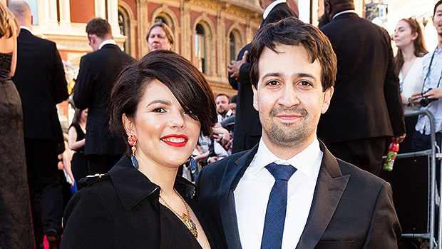 Lin-Manuel Miranda and his wife Vanessa
