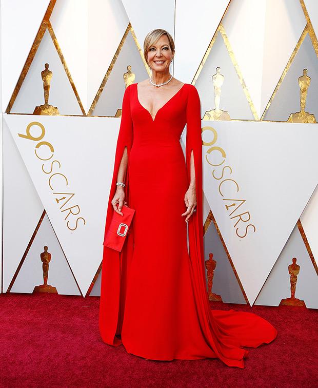 Allison Janney at the 2018 Oscars