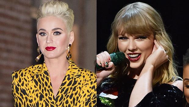 Katy Perry Addresses Taylor Swift Feud On American Idol Watch Hollywood Life