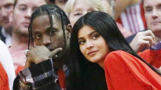 Kylie Jenner and baby daddy Travis Scott