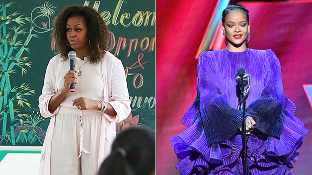 michelle obama and rihanna womens month shutterstock ftr