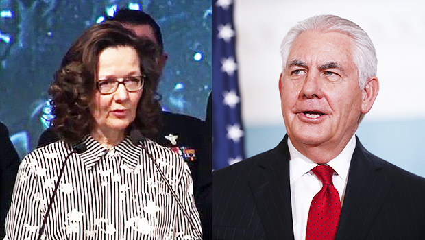 Gina Haspel And Rex Tillerson