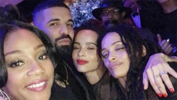 Tiffany Haddish, Drake & Zoë Kravitz
