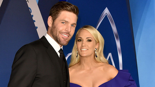 Mike Fisher and Carrie Underwood51st Annual CMA Awards, Arrivals, Nashville, USA - 08 Nov 2017