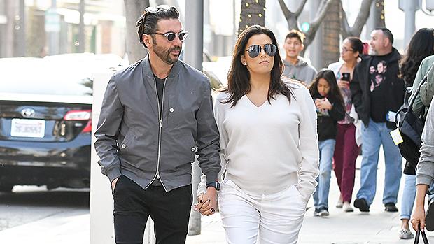 Pregnant Eva Longoria with husband Jose Baston