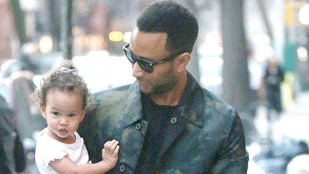 John Legend, LunaChrissy Teigen and John Legend out and about, New York, USA - 20 Feb 2018Chrissy Teigen and husband John Legend out with daughter Luna in New York
