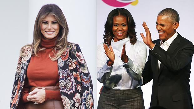 Melania Trump Grateful Barack Obama Michelle Kind