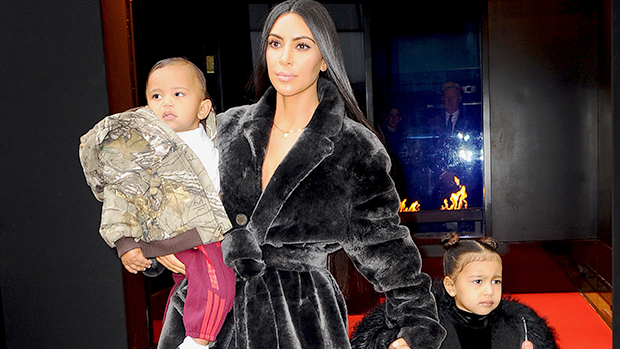 Kim Kardashian West takes North and Saint West out for lunch in NYC. She is in NYC to testify against the Paris heist robbers. She also hinted that she might be pregnant with her third child.Pictured: Kim Kardashian WestRef: SPL1432789 010217 Picture by: Jawad Elatab / Splash NewsSplash News and PicturesLos Angeles:310-821-2666New York:212-619-2666London:870-934-2666photodesk@splashnews.com