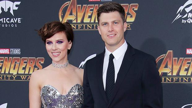 Colin Jost & Scarlett Johansson