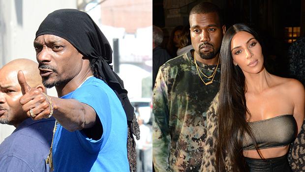 Snoop Dogg, Kanye West And Kim Kardashian